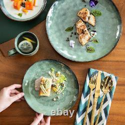 Vancasso Starry Dinnerware Set 16-Piece Glazed Stoneware Dinner Dishes Set for 4