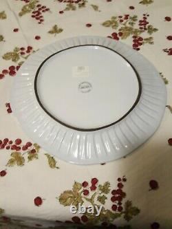 Vietri Incanto Stripe Dinner Plates New Never Used set of 4