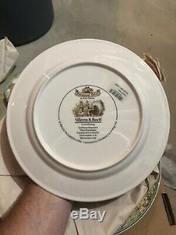 Villeroy & Boch Set Of 4 Dinner Plates Foxwood Tales New Withprice Tags