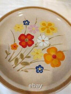 Vintage Country Living Dinner Plates Set of 5