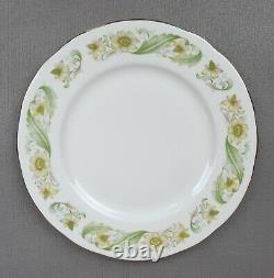 Vintage Duchess Greensleeves Dinner Service / Set for 6. Plates cups. Anemone