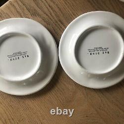 Vintage Rae Dunn CHIRP NEST Rare Plate Set