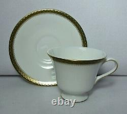 WEDGWOOD china CHESTER 48-piece SET SERVICE for 12 cup saucer dinner bread plate